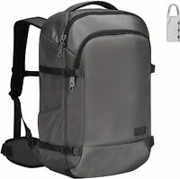 Hynes Eagle 45L Travel Luggage Carry on Backpack Bag Daypack w Combination Lock