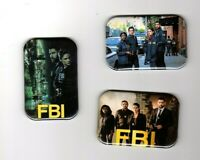 F B I TV SHOW 3 REFRIGERATOR MAGNET 2quot; X 3quot; WITH ROUNDED CORNER $8.99