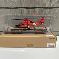 O Gauge 14 3 4quot; Flatcar U.S. COAST GUARD with Die Cast Helicopter NEW
