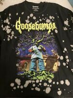 New Never Worn Goosebumps Vintage style T Shirt Size Large Halloween.