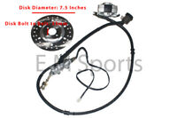 Atv Quad Rear Hydrauilc Caliper Disk w Disk 110cc 125cc 150cc 200cc 250cc Parts