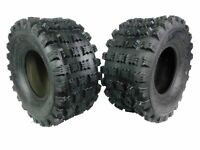 HONDA TRX 250R 1986-1989 PAIR (2) 20x10-9 AMBUSH SPORT ATV TIRES - REAR