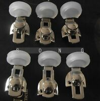 10 sets clarinet hand holder outfit nickel plated +holder cover+ 30 screws