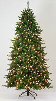 6.5' Regency Spruce Artificial Christmas Tree with Clear LED Lights