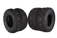 (4) New 24X8-12 24x10-11 MASSFX Grinder ATV TIRES SET HONDA RANCHER 4X4