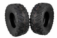 (2) New Rear 24x10-11 MASSFX Grinder ATV TIRES SET HONDA RANCHER 4X4 350 420 400