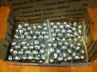 80 Egg Slip Sinkers 1 oz fishing weights FAST FREE SHIPPING