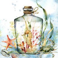 40 Paper EASTER Napkins TURQUOISE EGGS Spring Decoupage Lunch
