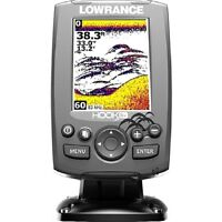 NEW! Lowrance 000-12635-001 Hook-3x Fishfinder, Transducer 83/200khz, 256 Color!