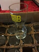 24Vintage Hourglass Tab Glasses 1963 First Diet Coke Cola TAB Soda Pop