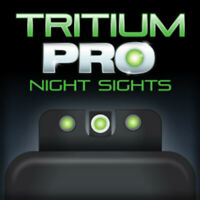 TruGlo Tritium PRO S&W Bodyguard .380 Tritium Night Sight Set-TG231MP2W