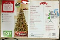 Holiday Time Pre Lit  7' Duncan Fir Artificial Christmas Tree white lights