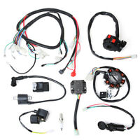 Full Wiring Harness Kit For 150 200 250 300cc ATV 4 wheeler Scooter buggy Atomik
