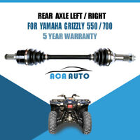 For Yamaha Grizzly 550 700 Rear Left / Right Drive Axle Shaft CV Joint 2007-2014