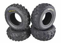 (4) New 24X8-11 24x10-11 Kenda Bear Claw EX ATV TIRES SET HONDA RANCHER 4X4 350
