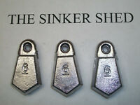 6 oz flat bank sinkers / decoy weight - quantity of 10/25/50 - FREE SHIPPING