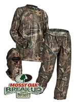 HECS Suit Deer Hunting Clothing - 3 Piece Shirt, Pants, Headcover | SM