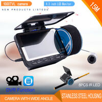 15M Underwater Ice Fishing Winter Camera with 15M Fishing Reel Cable Hand Fishin