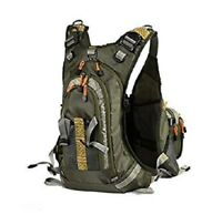 Fly Fishing Backpack Adjustable Size Vest Combo-D77