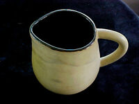 Large Art Pottery Jug Pitcher signed Smith Pottery Hand Thrown