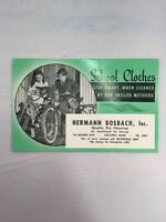 Hermann Bosbach School Clothes Advertising Holyoke MA Vintage Paper Ink Blotter