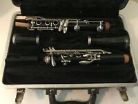 Bundy Resonite Clarinet The Selmer Company U.S.A with Hard Carrying Case Parts