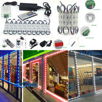 10~100ft 5050 SMD 3 LED Bulb Module Lights Club Store Front Window Sign Lamp Kit
