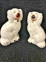 Pair of Staffordshire Style Dogs