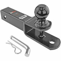 ATV 3 In 1 Ball Mount Hitch w/ Hitch Pin Fits 2