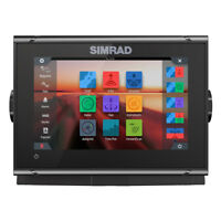 Simrad GO7 XSR Combo with Preloaded C-Map and TotalScan Transducer 000-14077-001