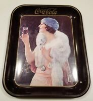 Coca Cola 1925 Party Girl Serving Tray *1973 Reproduction*