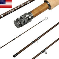 3/5/8WT Fly Rod 8.3FT 9FT Medium-fast Action 30T Carbon Fiber Fly Fishing Rod