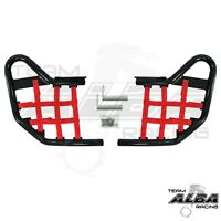Honda TRX 300EX 300X   Nerf Bars   Alba Racing  Black Red  255 T1 BR