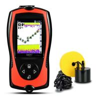 Lucky Protable Fish Finder 100M Depth Sonar Sensor Echo Sounder For Ice Fishing