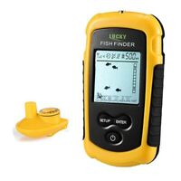 Lucky Portable Fish Finder With 100M Depth Wireless Sonar Sensor Fishing Fin