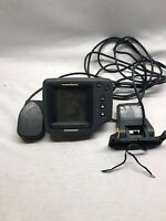 HUMMINBIRD WIDE OPTIC PORTABLE FISH FINDER Used. Everything In Picture Included
