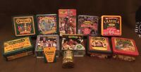 Crayola Collectible Holiday Tins Lot Of 12 Some Sealed