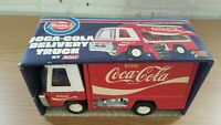 Vintage In Original Box Coca-cola Steel Toy Delivery Truck by Buddy L