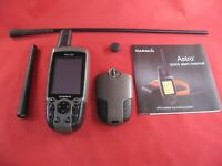 Garmin Astro 220 GPS Dog tracking receiver, use with DC-20,DC-30,DC-40 collars