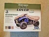 Budge ATV Heavy Duty Waterproof Cover, Size ATV-XL: Fits up to 87' L CAMO
