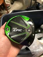CALLAWAY GBB EPIC Sub Zero 9* DRIVER CLUB HEAD ONLY Right Hand