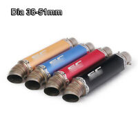 51mm Universal Exhaust Tips Muffler Escape Pipe for Modified ATV Dirt Motorcycle