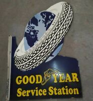 Porcelain Goodyear Service Station Sign Size 24