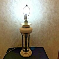 Royal Haeger Metal Stone Table Lamp 3 Way Switch 32