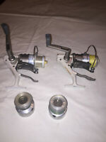 2 - QUANTUM HYPERCAST SPINNING REELS HC3 LONG STROKE SPARE SPOOLS