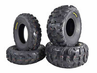 Kenda Bear Claw EX 25x8-12 F 25x11-10 R ATV 6 PLY Tires Bearclaw - 4 Pack Set