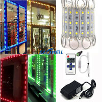 US 10FT 5050 SMD 3 LED Module Lights STORE FRONT Window Sign Lamp Decor Kits