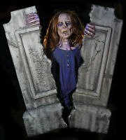 IN STOCK Cracking Crypt Static Halloween Corpse Tombstone Prop Haunted Cemetary