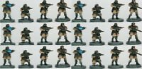 Wargame Atlantic Imperial Guard Infantry Troops x24 New on Sprue 28mm Miniatures
