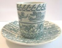 Nymolle Art Faience Demitasse Cup/Saucer Set Limited Edition 4-5a Paul Hoyrup